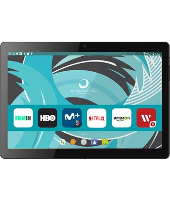 "Tablet Brigmton 1022 10,1"" hd 16/2gb 3g negra btpc_1022qc_n"
