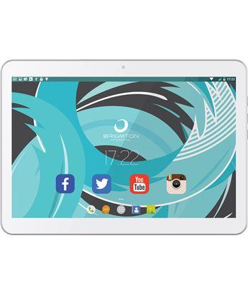 Tablet 10,1'' hd ips 3g Brigmton 1021 16/1gb blanca BTPC1021QCB - BTPC_1021_3G_B