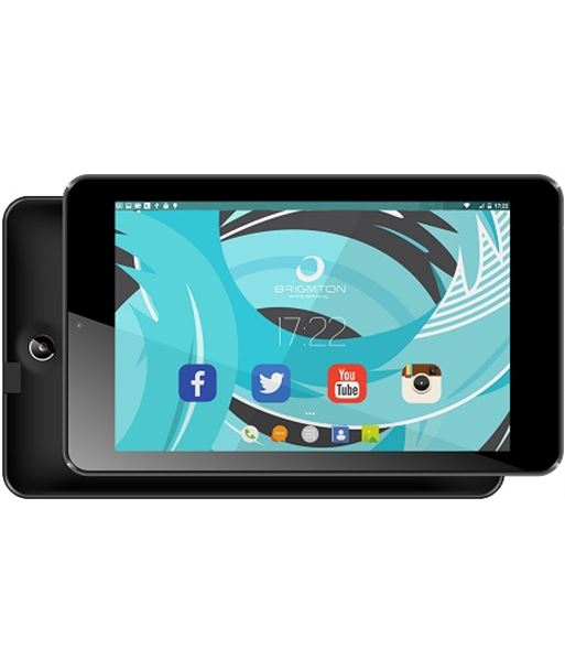 "Tablet 7"" hd ips Brigmton 702 8/1gb negra btpc_702_n - BTPC702N"