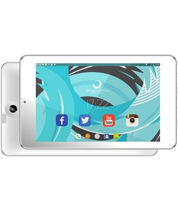 "Tablet 7"" hd ips Brigmton 702 8/1gb blanca btpc_702_b"