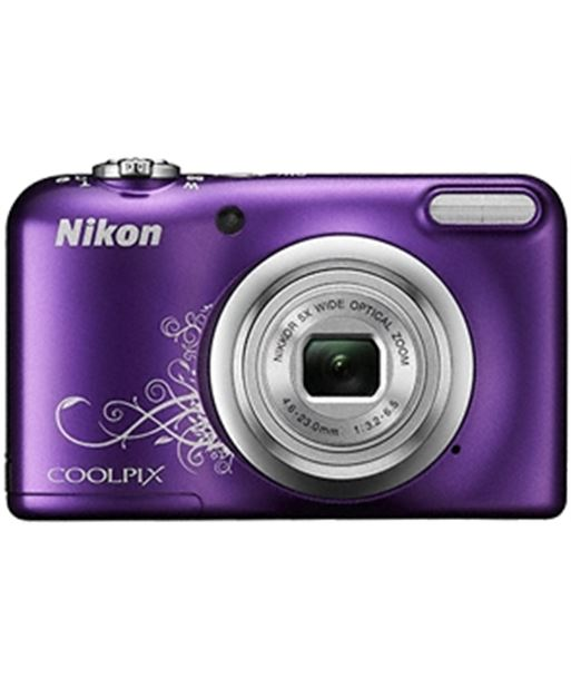 Nikon coolpix a10 morado +est 16,1mp ccd-w5x-2,7'' NIKA10PU1 - A10