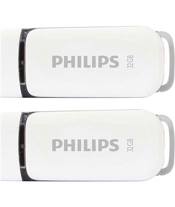 Pack 2 pendrives 2.0 Philips snow 32gb PHIFM32FD70D