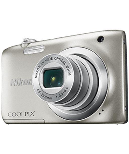 Cã¡mara digital Nikon coolpix a100 20mp 5x plata NIKA100S1 - A100 PLATA