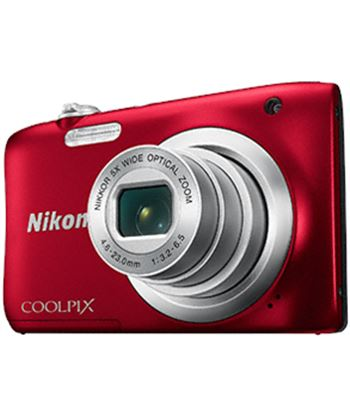 Cã¡mara digital Nikon coolpix a100 20mp 5x roja a100r1