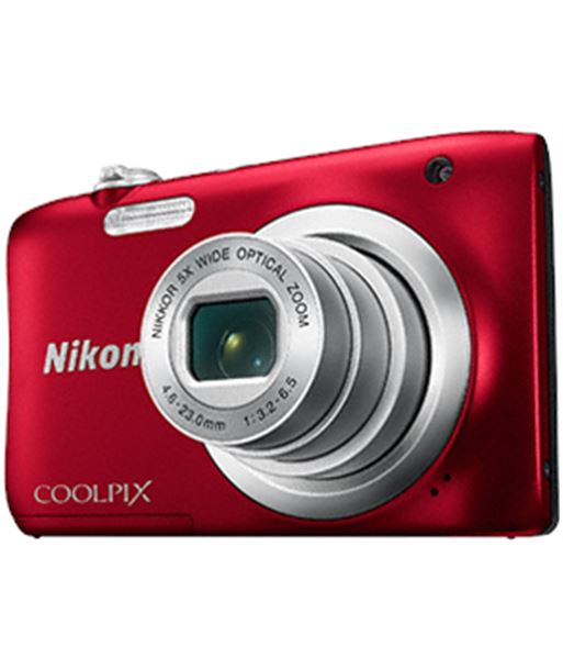 Cã¡mara digital Nikon coolpix a100 20mp 5x roja a100r1 - A100
