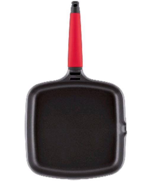 Fundix asador induction con mango rojo 22 x 22 cm fundfip22 - F2IP22