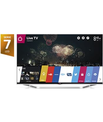 "65"" tv led 3d Lg 65lb730v, 800hz, smart tv"
