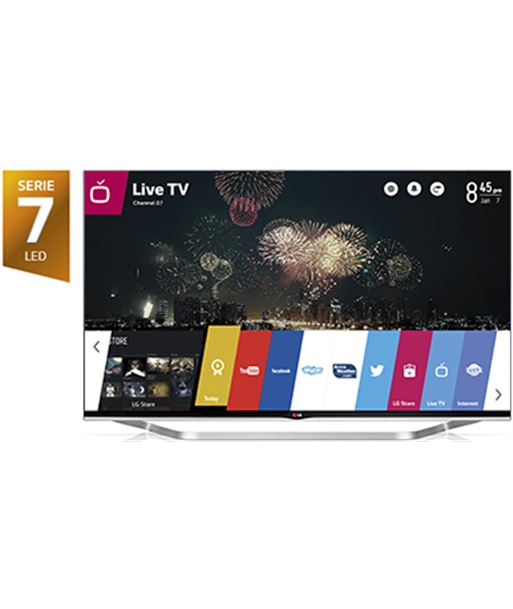 "65"" tv led 3d Lg 65lb730v, 800hz, smart tv - 65LB730V"