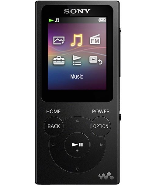 Sony reproductor mp3 NWE394 negro - 4548736015142
