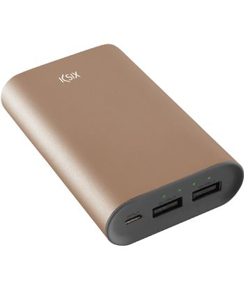 Contact ksix power bank metal 6000 bxba6000m03 conbxba6000m03
