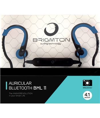 Brigmton auricular deportivo bml11a bml_11_a