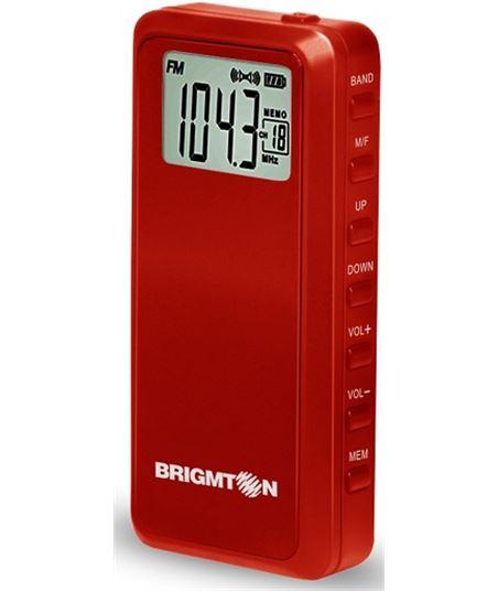 Brigmton radio rojo BT123R