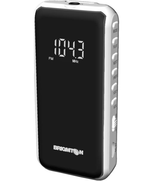 Brigmton radio negra bt124b BRIBT124B - 8425081015514