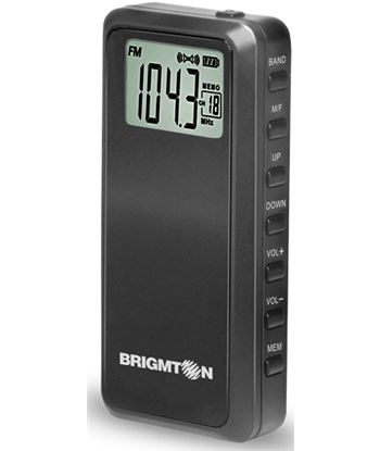 Brigmton radio negro BT123N