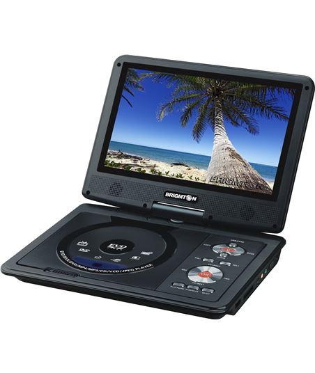 Brigmton reproductor dvd portatil bdvd1093 BRIBDVD1093