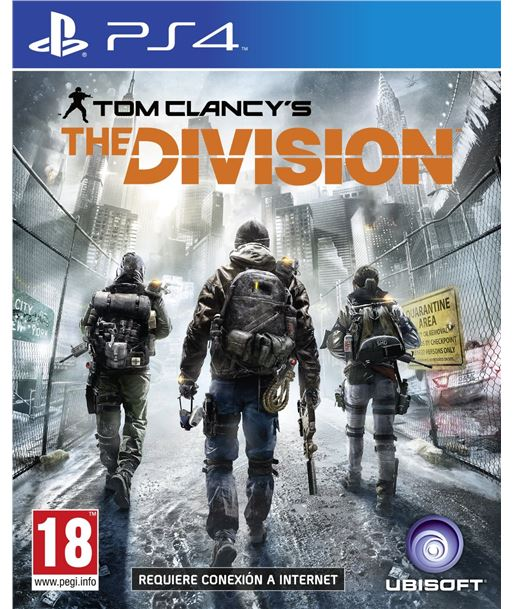 Ubisoft- ubisoft hyp juego tom clany's the division ps4 300067895 hyp300067895 - 300067895