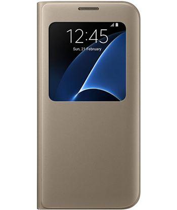 Samsung funda sview s7 edge dorada efcg935pfegww SAMEFCG935PFEGW