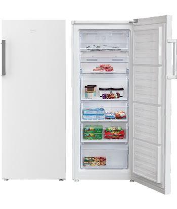 Beko congelador vertical no frost RFNE270K21W Congeladores y arcones