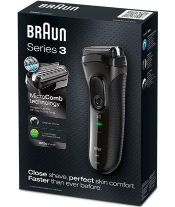 Braun 3020SERIE3 afeitadora 3020 pack serie 3 blac - 3020SERIE3