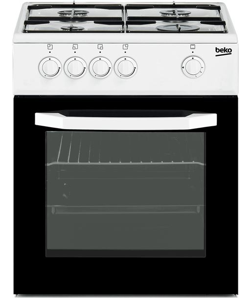 Beko cocina 4 fuegos blanca gas nat CSG42010DWN Cocina - CSG42010DWN