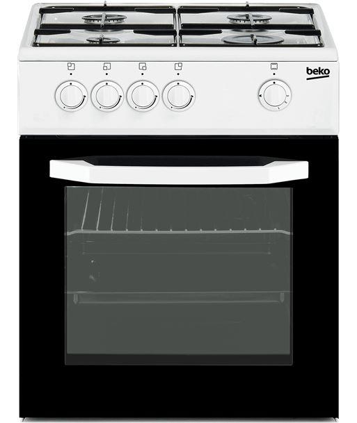 Beko cocina 4 fuegos blanca gas nat CSG42010DWN - CSG42010DWN