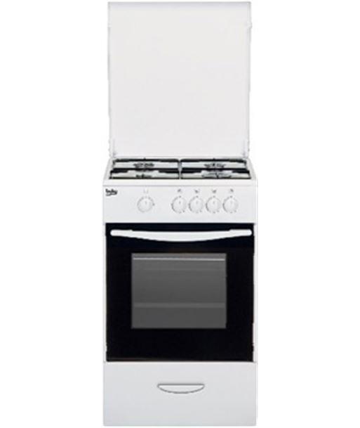 Beko CSG42009DW cocina independiente 4 fuegos gas but blanca - CSG42009DW