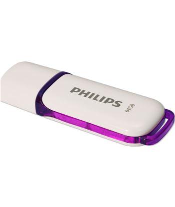 Philips FM064FD70B pendrive blanco y morado Perifericos accesorios - 8712581662646
