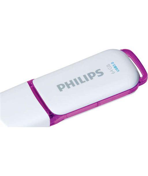 Philips pen drive snow 64gb fm64fd75b PHIFM64FD75B - FM64FD75B1