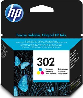 Hewlett hp tinta de color tricolor 302 f6u65ae