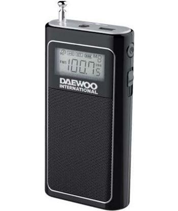 Daewoo radio portatil DRP125 negro