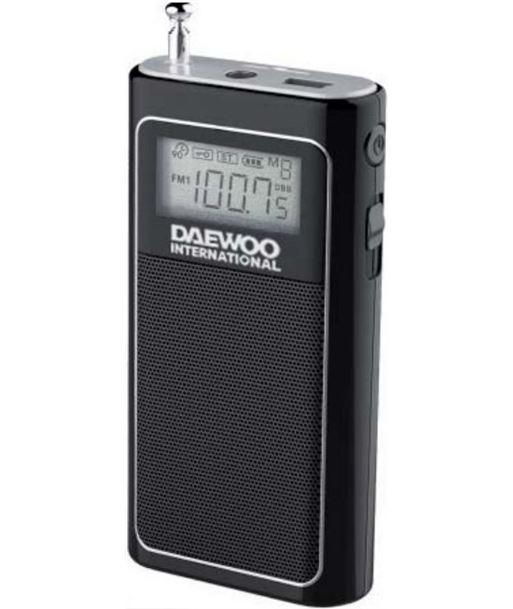 Daewoo DRP125 radio portatil negro Otros - 8413240585039