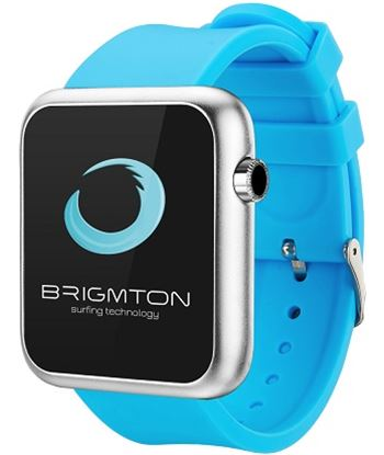 Brigmton reloj smartwatch bt3 azul bwatch_bt3_a BRIBT350N