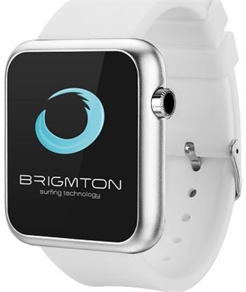 Brigmton reloj smartwatch bt3 blanco bwatch_bt3_b BRIBT250B