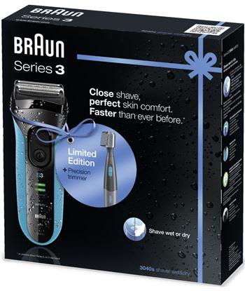 Braun afeitadora serie 3 3040 3040SERIE3PT10 Afeitadoras