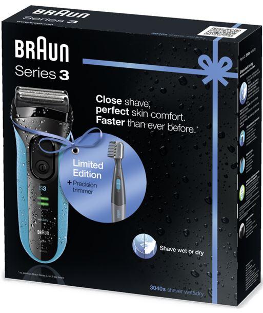 Braun afeitadora serie 3 3040 3040SERIE3PT10 - BRA3040