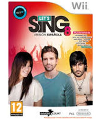 Hypnosis juego wii let's sing 8 1009741