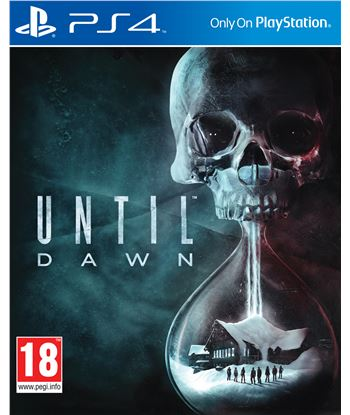 Sony juego ps4 until dawn 9816539