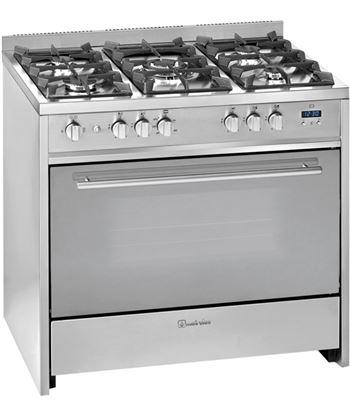 Meireles cocina convencional acero inox gas G910X