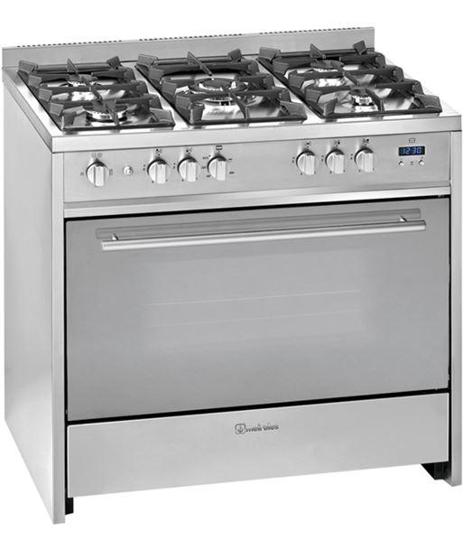Meireles cocina convencional acero inox gas G910X - 5604409133175