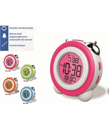Daewoo reloj despertador daewo dcd220pk, pantalla retroil - DCD220PK