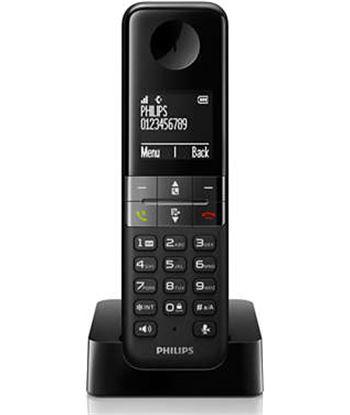 Telefono Philips d4501b23 dúo manos libres negro, d4501b_23