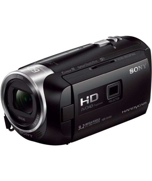 Videocµmara fhd Sony hdrcx410b negra + proyector HDRPJ410BCEN - 4548736000605