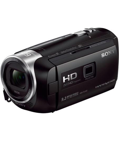 Videocµmara fhd Sony hdrcx410b negra + proyector hdrpj410b