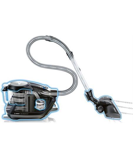 Bosch aspirador sin bolsa aaca bgs5sil66b, clase d - 42420028130661