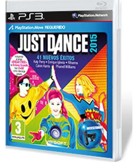 Ubisoft- ps3 just dance 2015 300066670 - 3307215790939