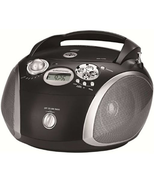 Radio cd Grundig gdp6330 rcd1445 usb negro/silver - 4013883870180