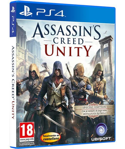 Ubisoft- juego ps4 assassin's creed unity special edition 300067788 hyp300067788 - 3307215803530