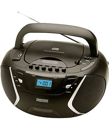 Daewoo radiocassett daewo dbu51, cd-r/cd-rw/mp3, puerto u