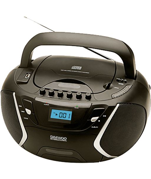 Daewoo DBU51 radiocassett daewo , cd-r/cd-rw/mp3, puerto u - 8413240571742