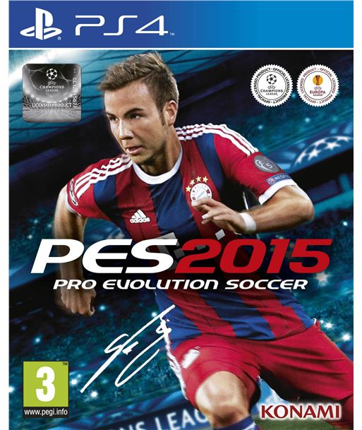 Konami juego ps4 pro evolution soccer 2015 one edition 100660 - 4012927100660